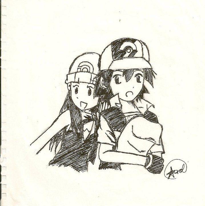 Pearlshipping!!! Ash and Dawn by Hikarol-chan on DeviantArt