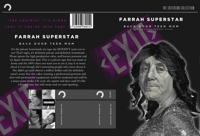 """Farrah Superstar: Backdoor Teen Mom"" Criterion Collection"