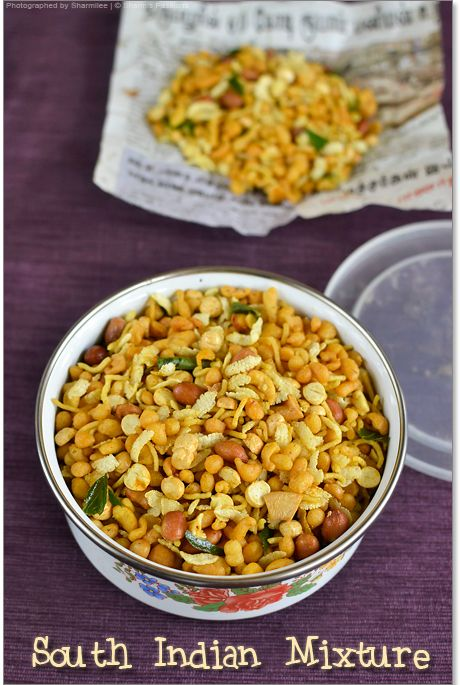 South Indian Mixture Recipe (google the ingredients, possibly get at h-mart)
