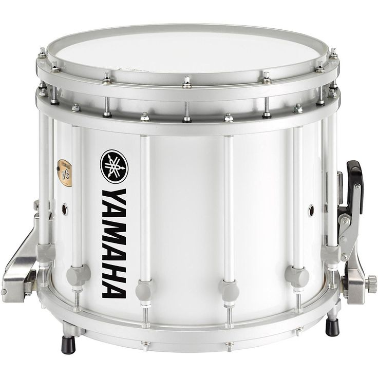 Yamaha 9300 Series SFZ Marching Snare Drum 14 x 12 in. White with Standard Hardware