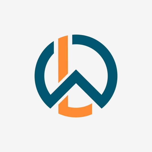 Wl Circle Letters Logo Wl Wl Logotype Wl Letter Png And Vector
