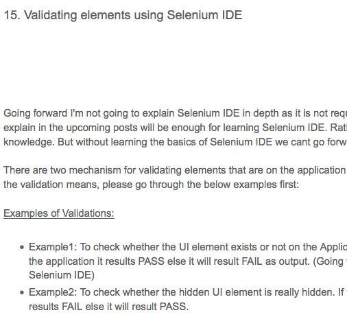 20 best Selenium IDE Tricks images on Pinterest Script, Scripts - selenium resume