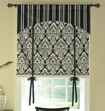 WINDOW TREATMENTS by WAVERLY Butterick Patterns by BRICABRACGARDEN, $7.00