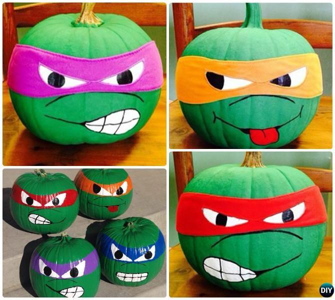 no carve halloween pumpkin decoration crafts instructions