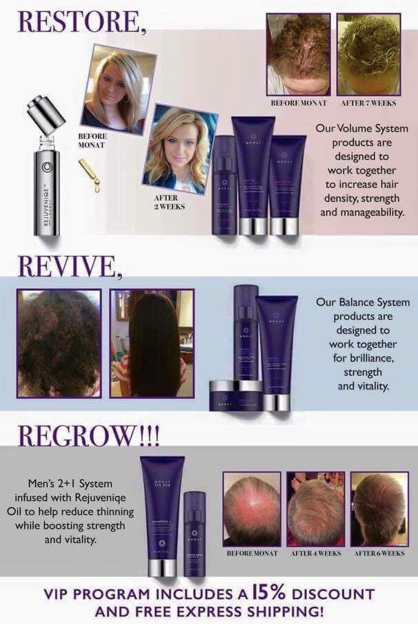 Awesome anti-aging hair care! Restore, revive, regrow!