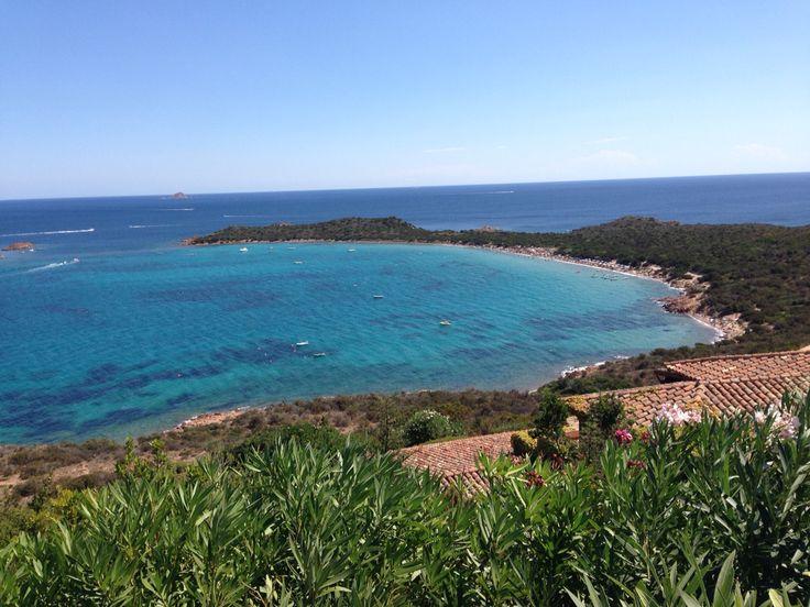 View of Capo Coda Cavallo. Sardinia