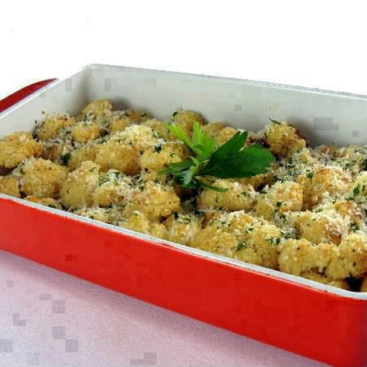 Oven roasted cauliflower | Sides | Pinterest