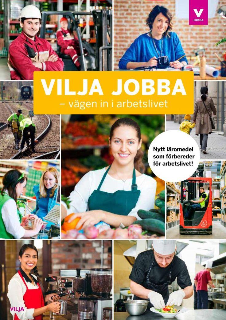 Vilja jobba - en bokserie från Vilja förlag.