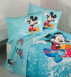 Disney Mickey Mouse Completo Lenzuola Caleffi  2013 Acqua