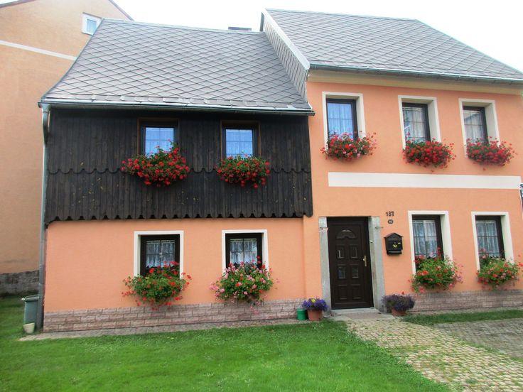 Domek s muškáty - Abertamy - Krušné hory - Česko