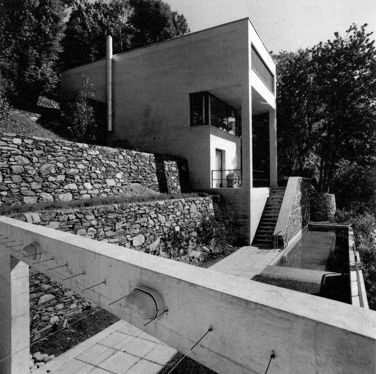 Luigi Snozzi - Diener House, Ronco, Switzerland (1990)