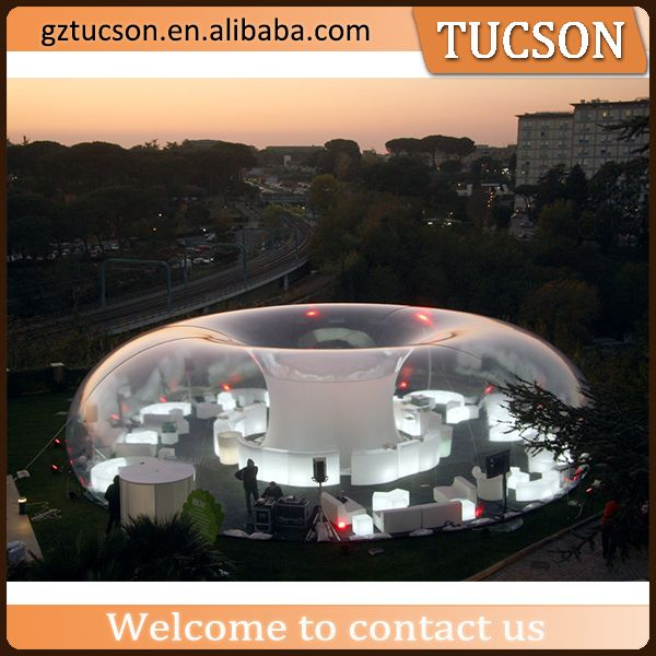 Source giant clear inflatable lawn tent/ inflatable bubble tent for sale on m.alibaba.com