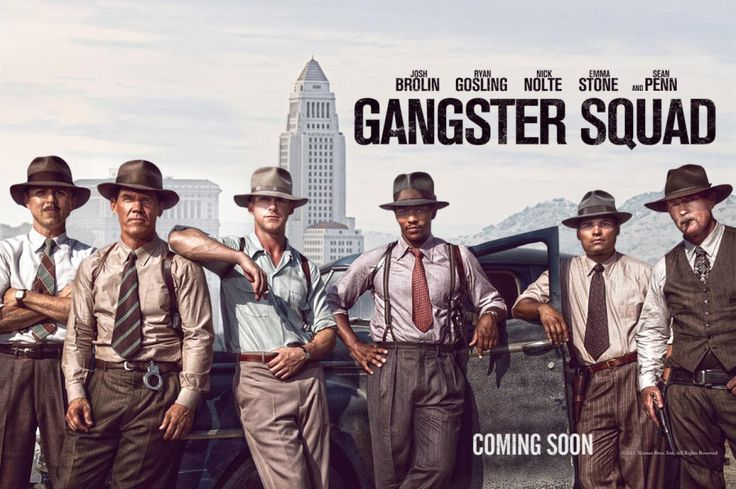 Official Banner for 'Gangster Squad' I cannot wait!