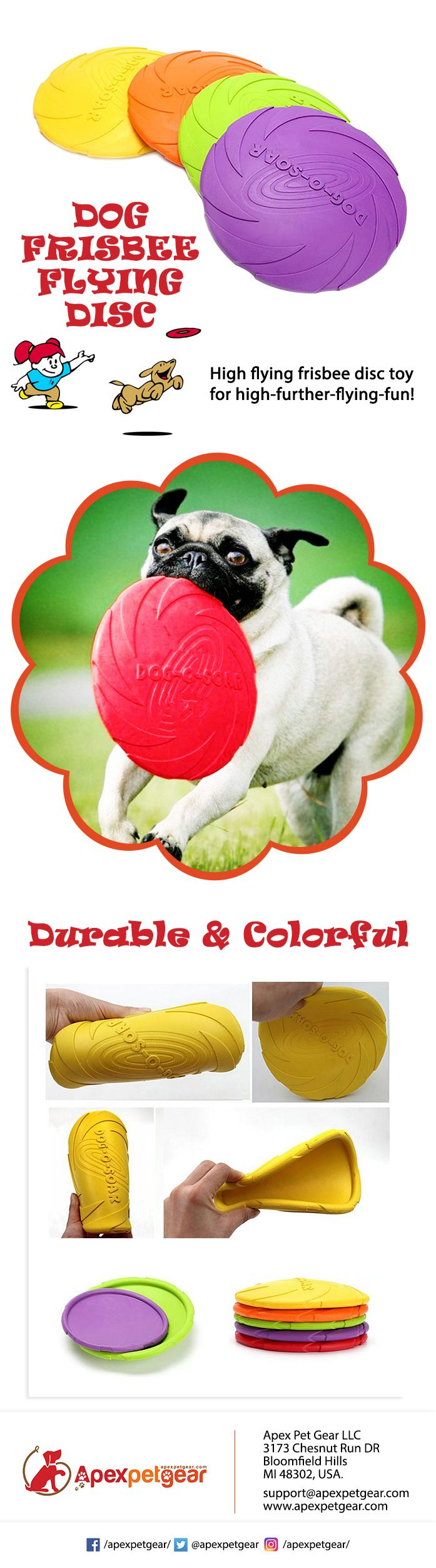 DOG FRISBEE FLYING DISC,  DOG TOYS, TOYS FOR DOGS #dogtraining #petplay #toys