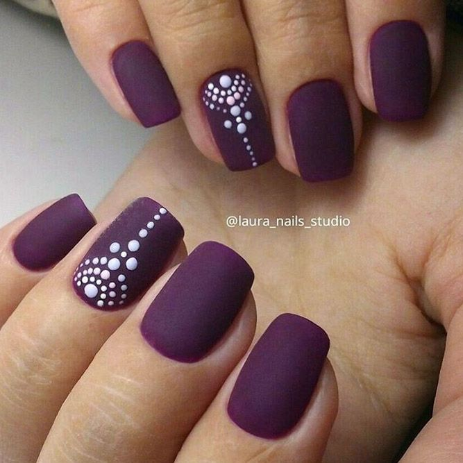 Best Matte Nails That You Will Love ★ See more: http://glaminati.com/best-matte-nails/