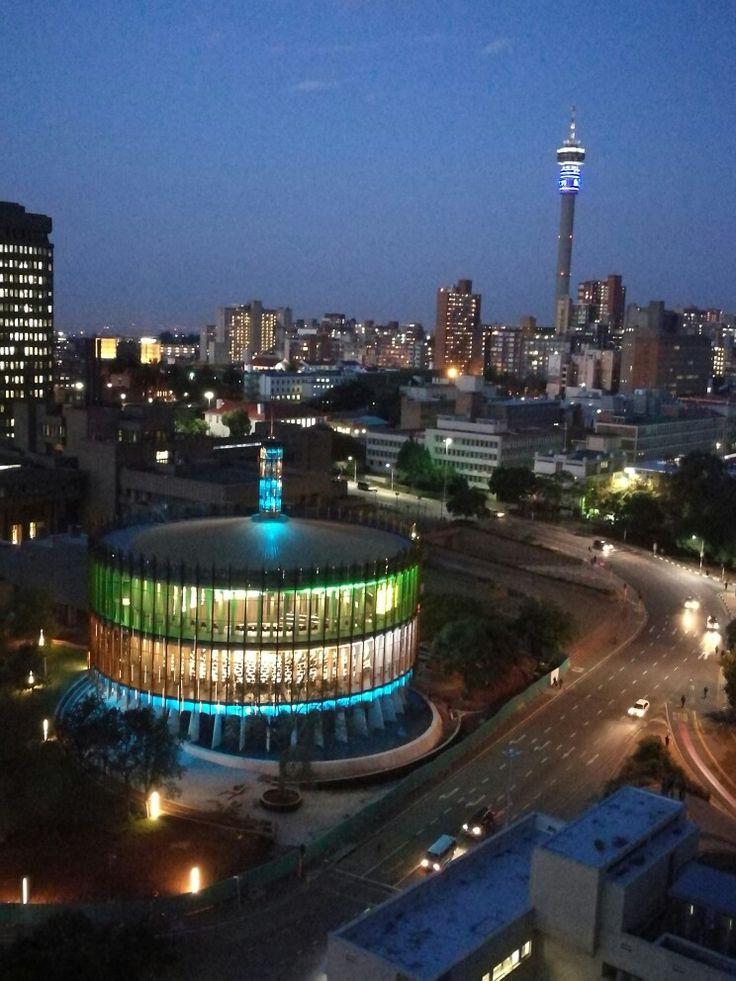 South Africa, Johannesburg, Braamfontein