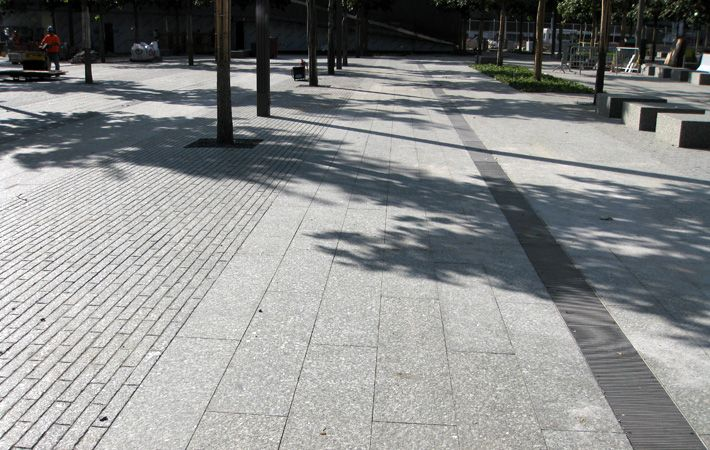 Paving, Granite, 911 memorial plaza | PWP Landscape Architecture