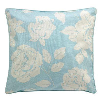 Mono Rose Printed Cushion | Cath Kidston |