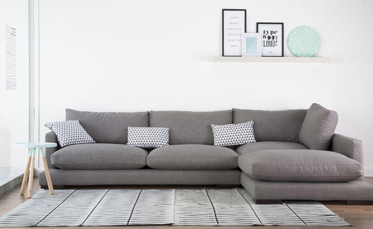 un sofá con pinta de muy cómodo :D