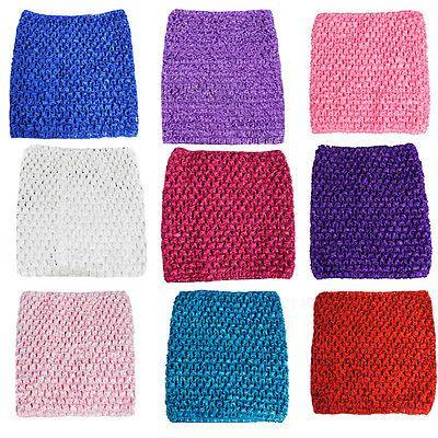 2016新しいスタイルのベビー女の子ストレッチかぎ針編みチューブトップヘッドバンドヘアバンドウエストバンドチュチュ用品