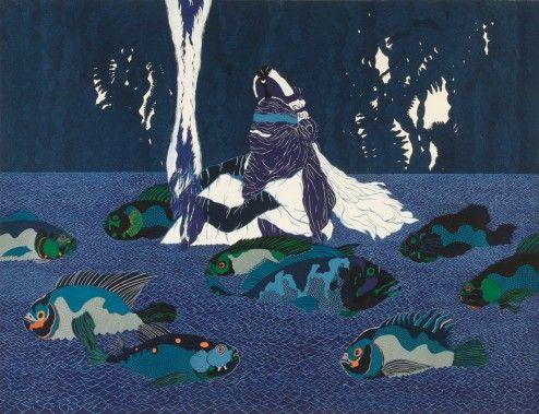 Portugais d'origine, Rui Moreira puise son inspiration dans une mer d'influences, de sources, de références : silhouette de Touareg se découpant sur la ligne d'horizon du désert, tracé subtil et élégant des gravures d'Hokusaï, fresque onirique du street art, nuances de bleu des lladros, …