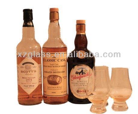 High Quality 750ml Glass Wine Bottles Wholesale $0.1~$0.2