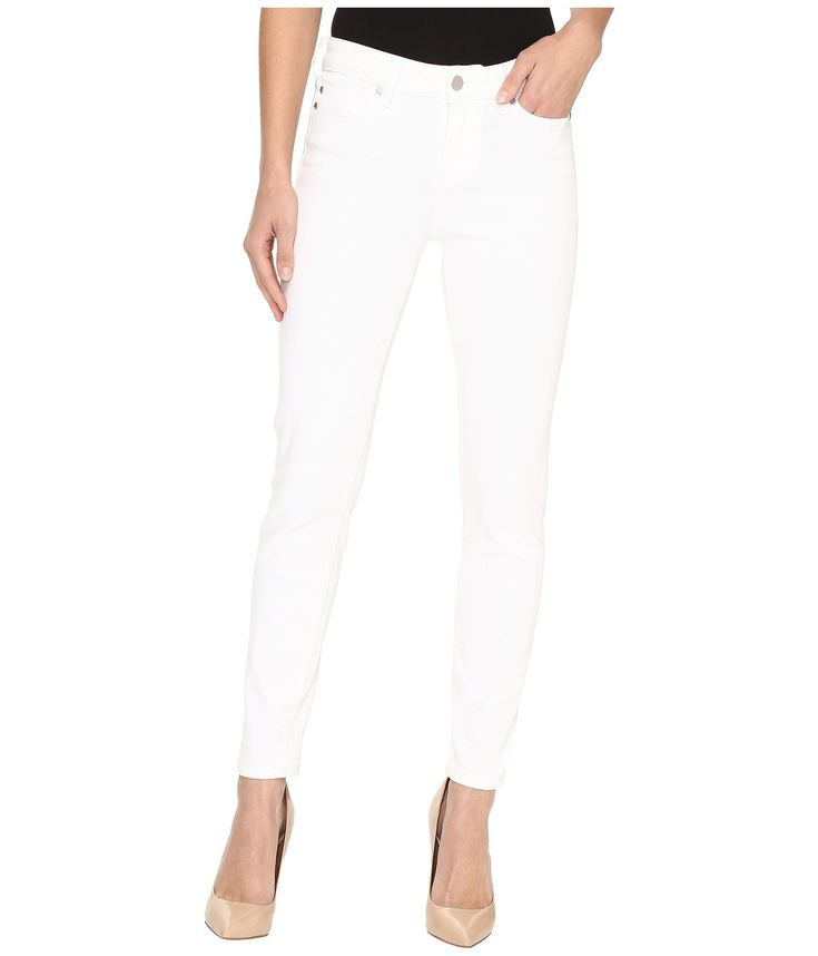 LIVERPOOL Penny Ankle Skinny on Super Soft Stretch Denim in Bright White. #liverpool #cloth #