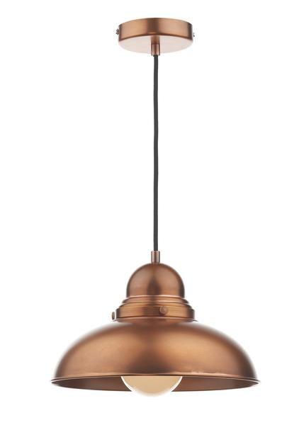 Dynamo Antique Copper Suspended Ceiling Light