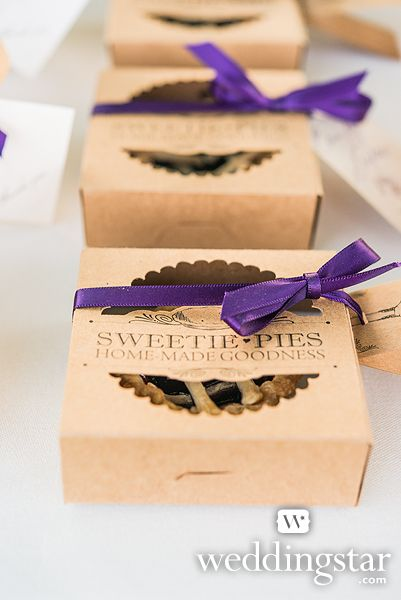 """© weddingstar.com ★ """"Sweetie Pies"""" Mini Pie Packaging Kits, Item 9242 ★ Click this image to explore and shop"""