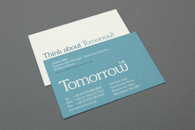 Thinkbox - Business Card Design Inspiration | Card Nerd