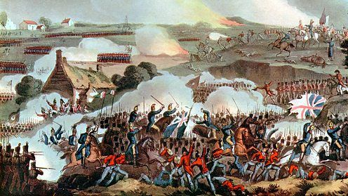 The Battle of Waterloo: The day that decided Europe's fate. (BBC) La Haye Sainte.