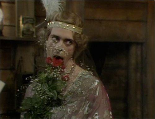 Hugh Laurie in Blackadder Series IV.