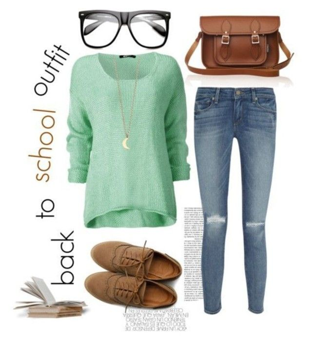 """Back to school outfit #3 (requested)"" by brooke-hilton ❤ liked on Polyvore"