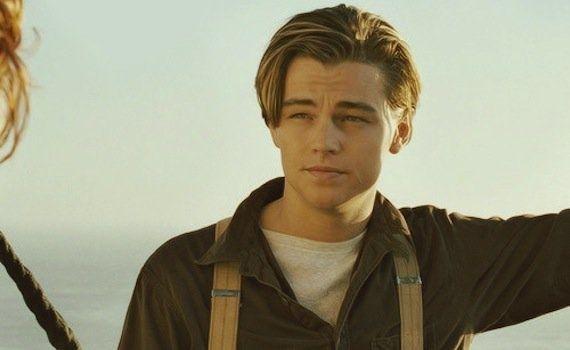 Jack Dawson de 'Titanic'.