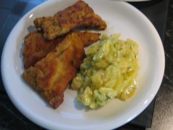 Wiener Schnitzel mit Kartoffelsalat - Rezept