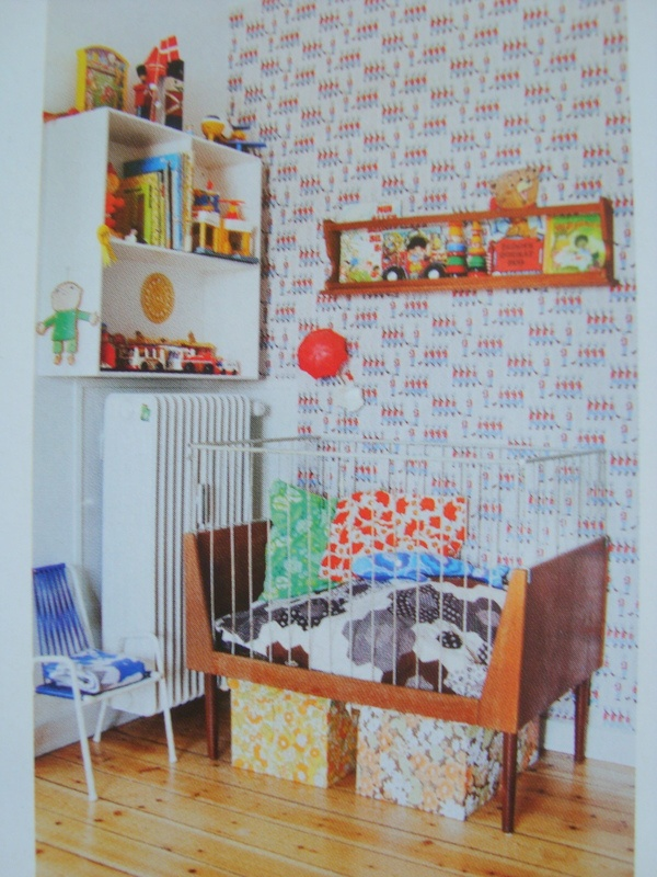 Retro and Vintage Baby Rooms