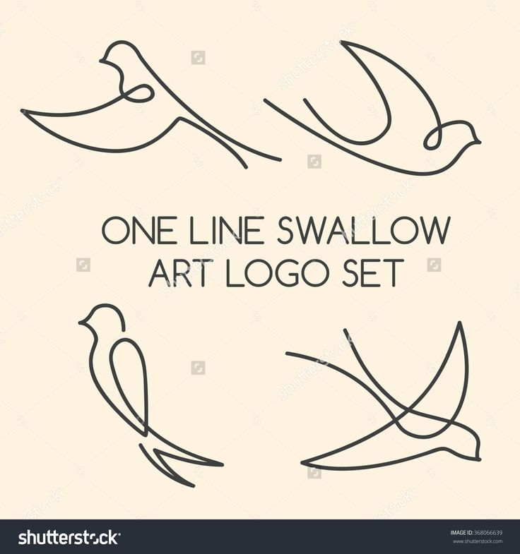 one line swallow - Поиск в Google