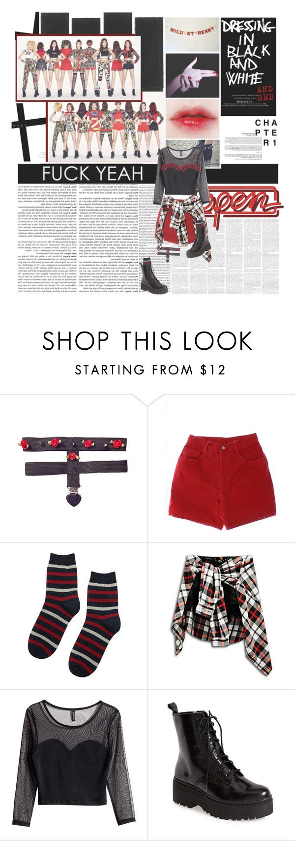 """""""Ooh Ahh - Ahh Yeah!"""" by charmandder ❤ liked on Polyvore featuring мода, Urban Outfitters, H&M, Jeffrey Campbell, kpop, twice, jyptwice и twicejyp"""