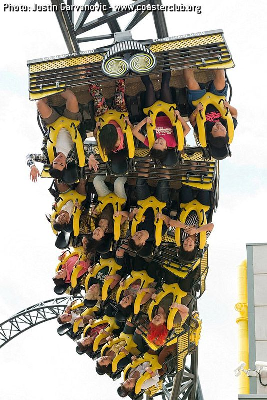 Smiler - Alton Towers (Alton, Staffordshire, England, UK)