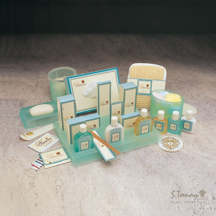 Personalized Designs Venezia | Sadi Tanay's Collection, Istanbul #hotel #guest #amenities #soap #shampoo #showergel #istanbul #otel #buklet