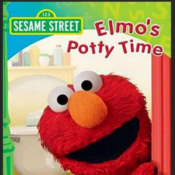 Potty time Elmo sesame Street new DVD shrink wrap New sealed Sesame Street Elmo potty time DVD Sesame Street Other