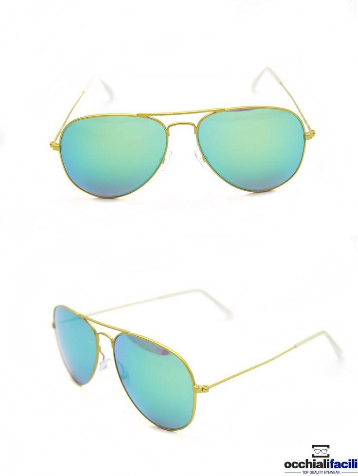 Occhiali da sole Mata Mod. 1272 Col.A5P,in metallo con doppio ponte e terminali in celluloide,  lenti sfumate e specchiate. http://www.occhialifacili.com/prodotto/occhiali-da-sole-mata-cl122-c1/