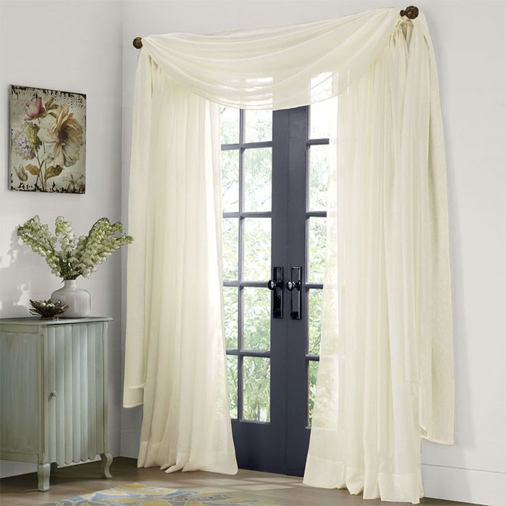 Elegant Sheer Brilliance Sheer Curtains Add A Touch Of Soft Elegance To Windows,  But Donu0027