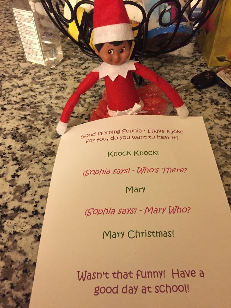 Christmas knock knock jokes