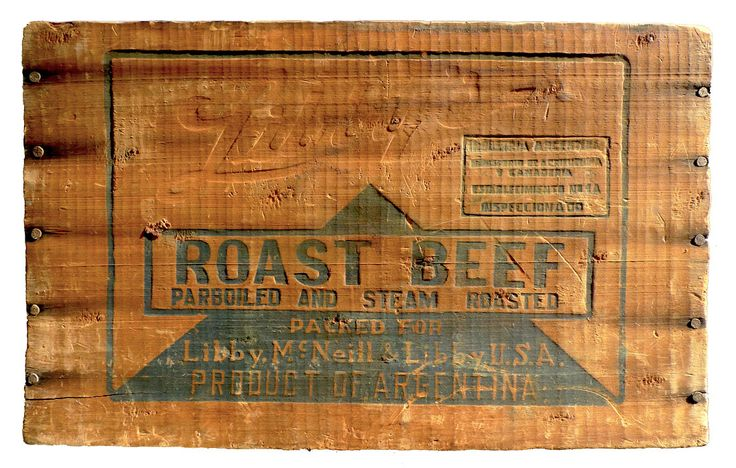 Beef crateGoogle Image, Crates Image, Vintagee Wooden Crates Jpg, Roast Beef, Roasts, Wood Boxes, Beef Crates, Roasted Beef, Crates Inspiration