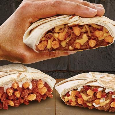 Buzzing: Taco Bell Rolls Out Cheetos Crunchwrap Slider for People With No Self Control
