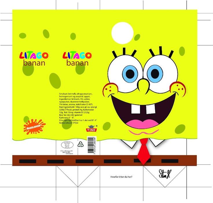 Package design-Litago (spongebob)