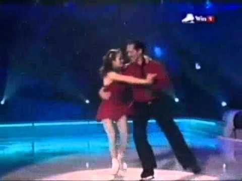 David Seaman and Pam O'Connor Dancing On Ice Week 2