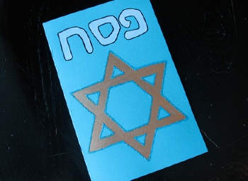 Passover Greeting Card Craft: Passover Crafts for Kids - Kaboose.com