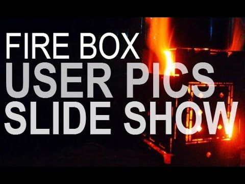 Slide Show Of Folding Firebox Camp Stoves In Use All Around The World! /...